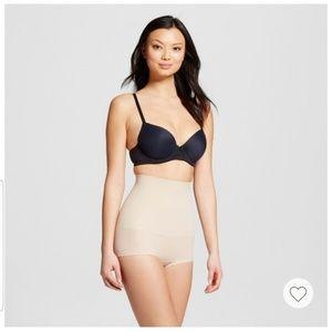 NWOT Maidenform women's seamless high waist